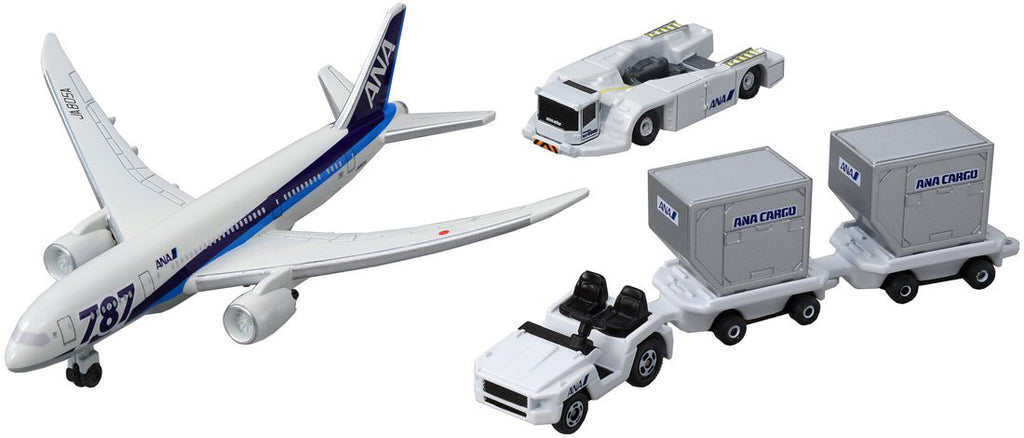 Tomica Toy Car 787 Airport Set ANA Japan