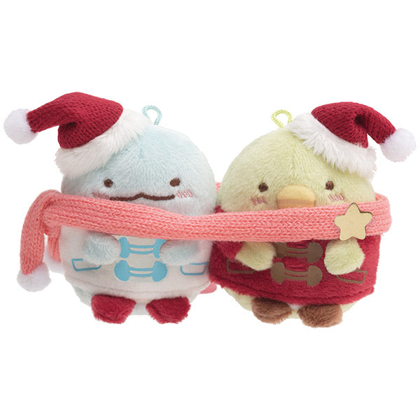 Sumikko Gurashi Penguin ? & Tokage mini Tenori Plush Doll San-X Japan Christmas