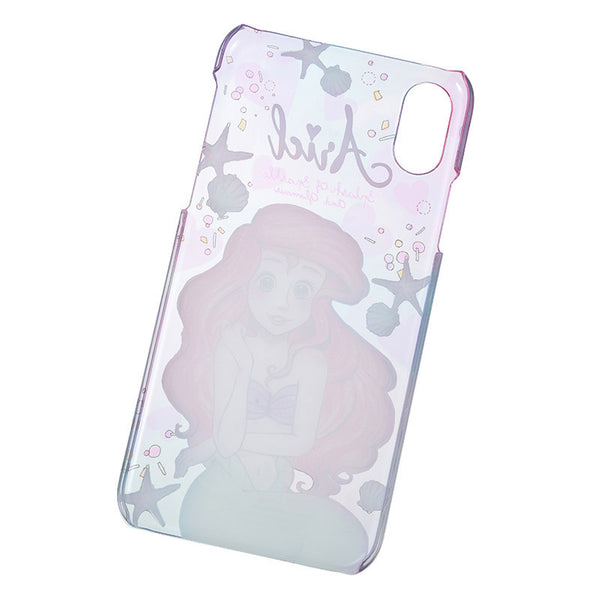 Little Mermaid Ariel iPhone X Case Cover urukira Glitter Disney Store Japan