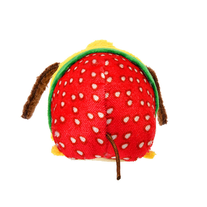 Pluto Tsum Tsum Plush Doll mini S Strawberry Disney Store Japan