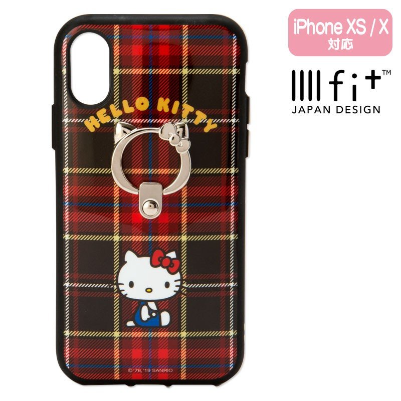 Hello Kitty iPhone X / XS Case Cover IIIIfi+ Sanrio Japan