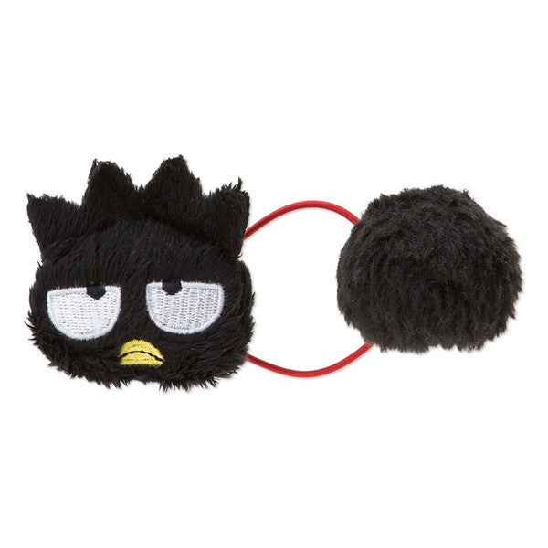 Bad Badtz-Maru Plush Ponytail Holder Ponpon Sanrio Japan Hair Accessory