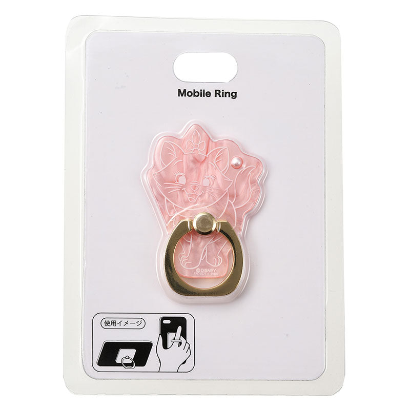 The Aristocats Marie Cat Smartphone Ring Shell style Disney Store Japan