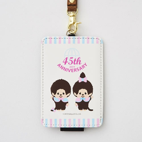 Monchhichi Pass Case Anniversary Japan 2019