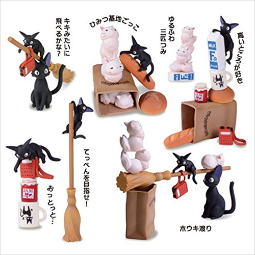 Kiki's Delivery Service Figure Building blocks Balance Game Toy Ghibli Japan