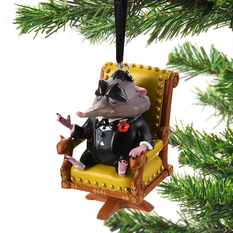 Zootopia Mr. Big Christmas Tree Ornament Disney Store Japan