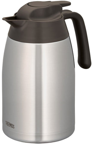 Thermos Stainless Pot 1.5L Brown THV-1501 SBW Japan