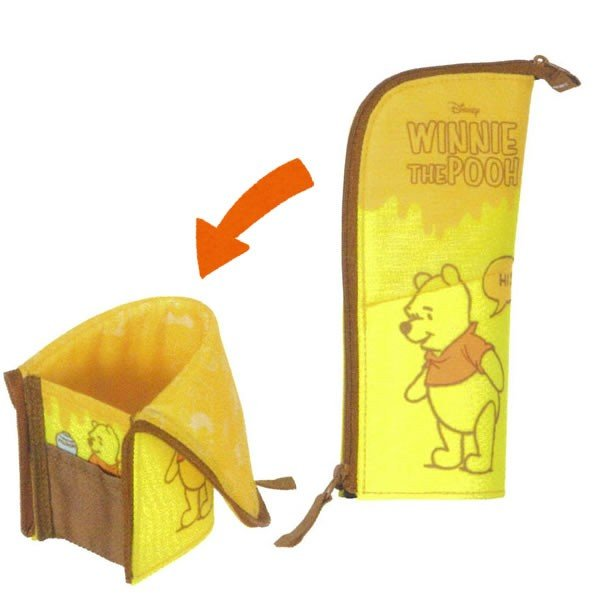 Winnie the Pooh Neo Critz Pen Case Pencil Pouch Disney Japan