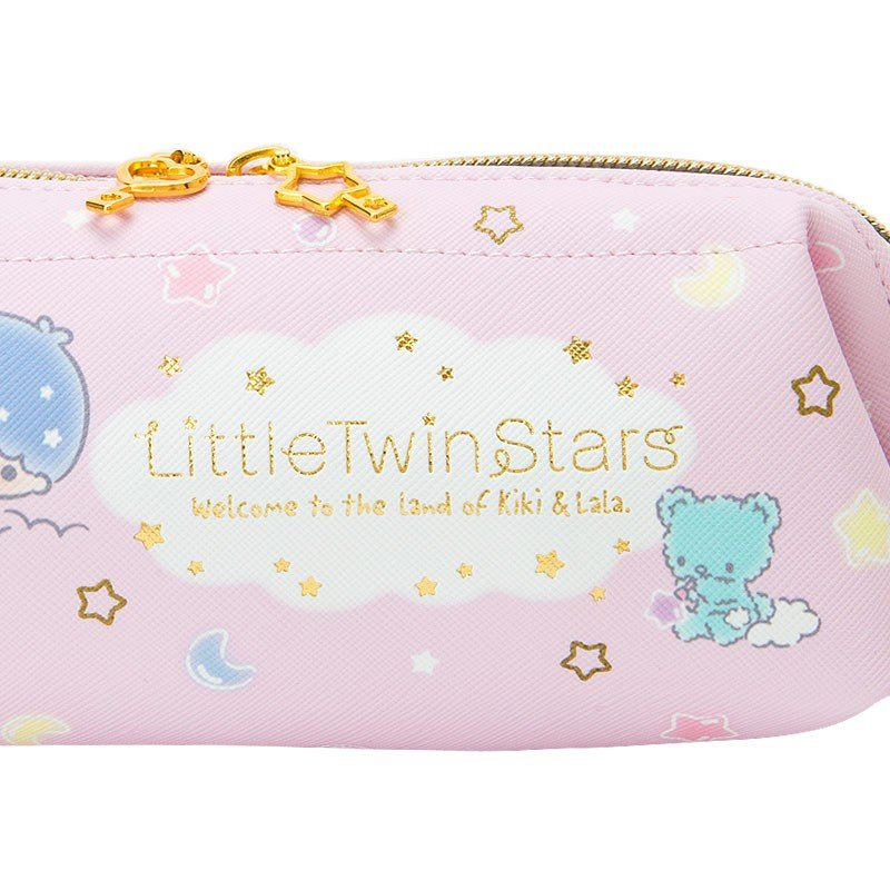 Little Twin Stars Kiki Lala Wire Pen Case Pencil Pouch Sanrio Japan 2019