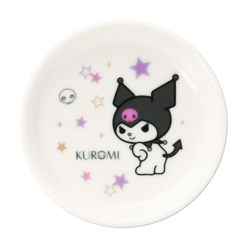 Kuromi mini Plate Star Sanrio Japan