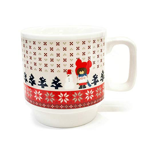 Jackie Stacking Mug Cup Nordic Red the bears' school Japan