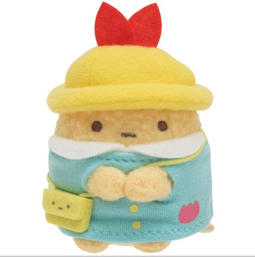 Sumikko Gurashi Fried Shrimp Tail mini Plush Doll kindergarten San-X Japan