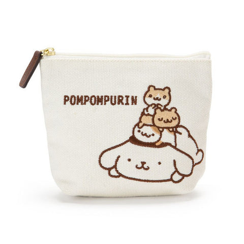 Pom Pom Purin Canvas Tissue Pouch Always Together Sanrio Japan
