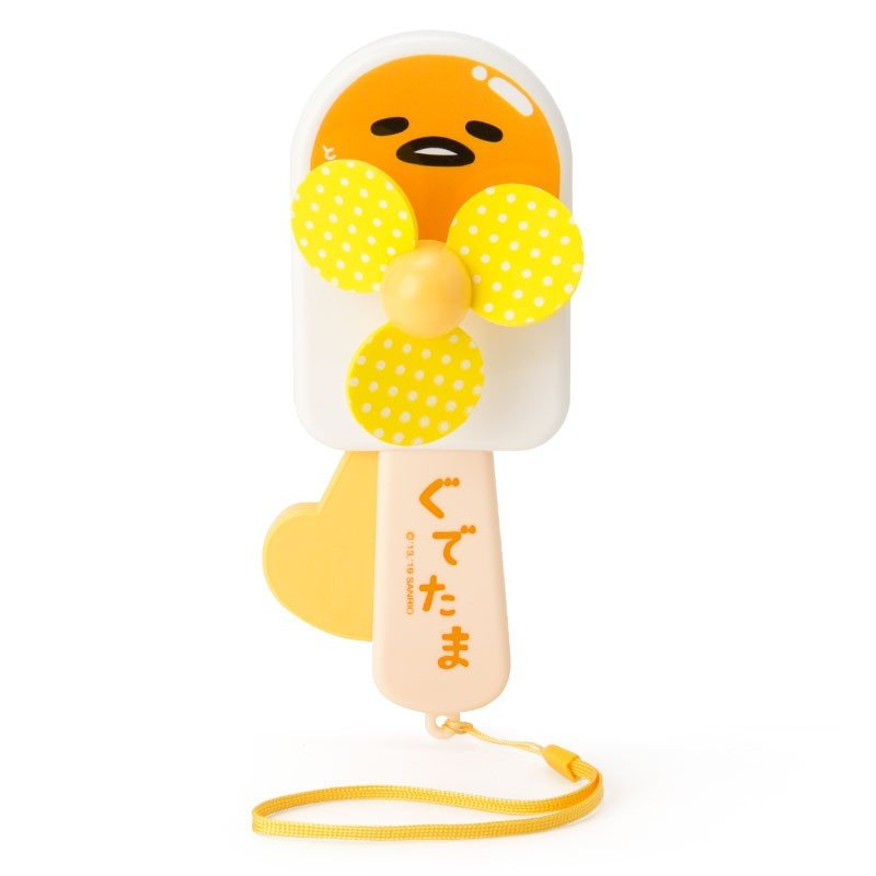Gudetama Egg Handy Fan Ice Sanrio Japan Manual type