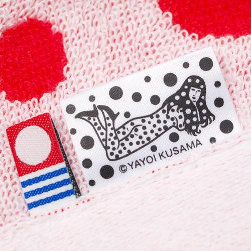 Yayoi Kusama BODY FESTIVAL Towel Heart Red Japan Artist RARE!