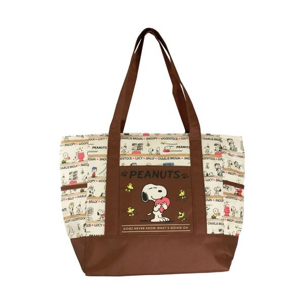 Snoopy Cool Tote Bag Classic PEANUTS Japan