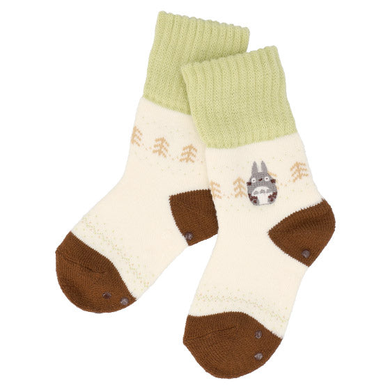 My Neighbor Totoro Room Socks 13-19cm Midi length Off White Studio Ghibli Japan