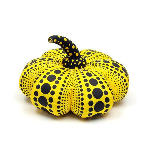 Yayoi Kusama Pumpkin Soft Sculpture Plush Doll S Yellow Black Japan