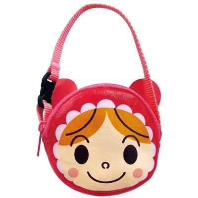 Akachan man Pouch with Handle Strap Anpanman Japan Kids ANJ-800