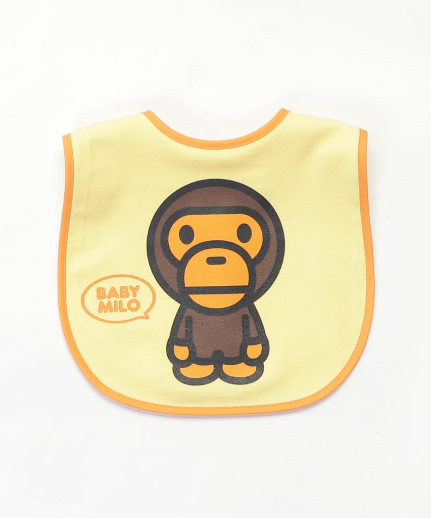 BABY MILO BIB KB Yellow A BATHING APE Japan