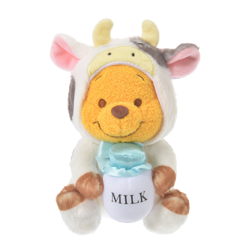 Winnie the Pooh Plush Doll Eto Zodiac 2021 Cow Disney Store Japan New Year