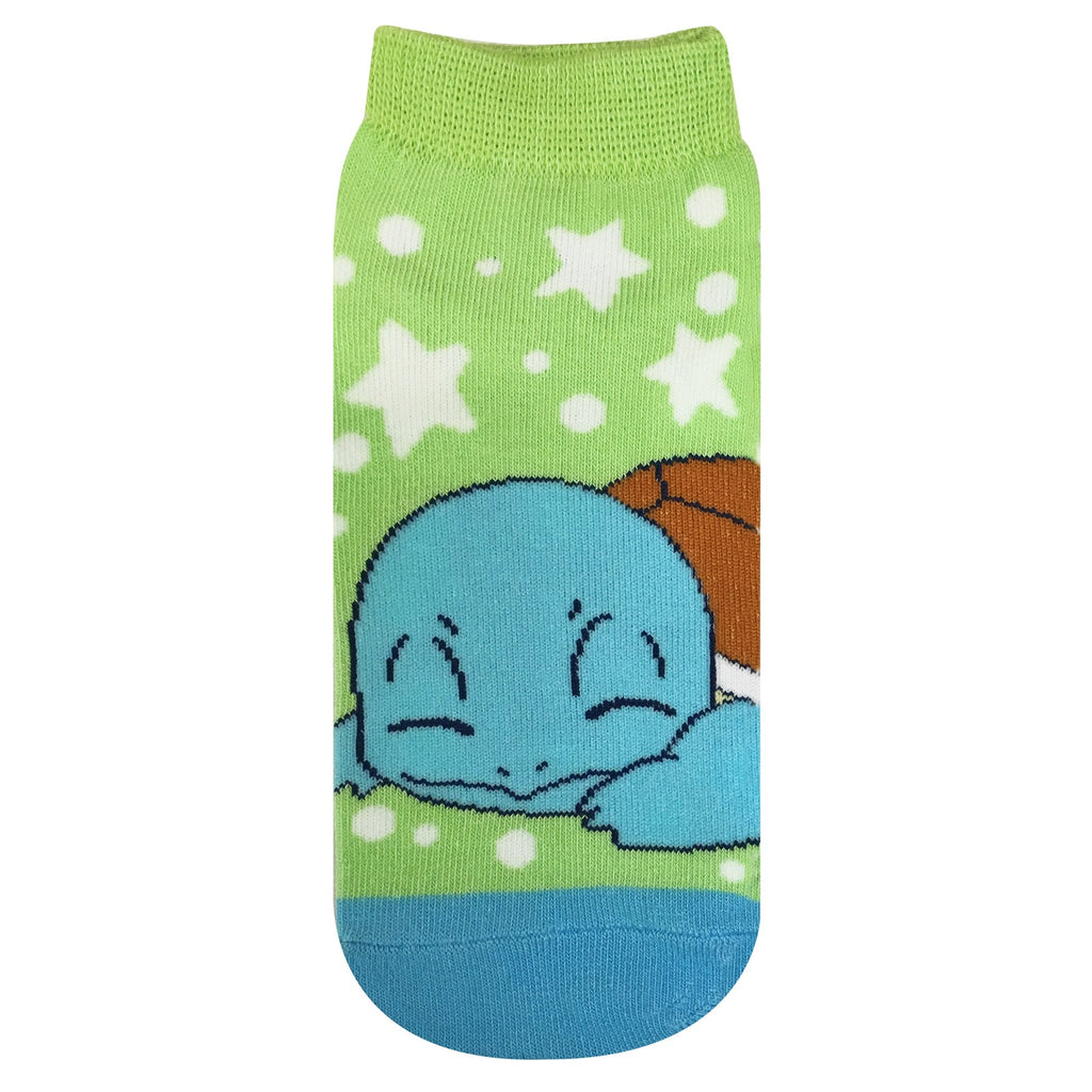 Squirtle Zenigame Socks 23-25cm Good Night Pokemon Center Japan Original