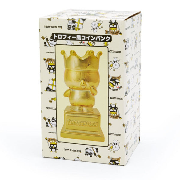 Bad Badtz-Maru Trophy Shape Ceramic Piggy Bank Gorgeous birthday Sanrio Japan