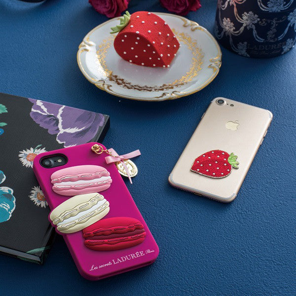 iPhone 6 6s 7 8 Case Cover Macaron Rose Francoise Laduree Japan
