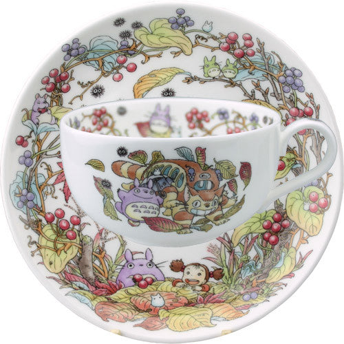 My Neighbor Totoro Tea Cup Sorcerer Ghibli Noritake Japan Smilax china Gift