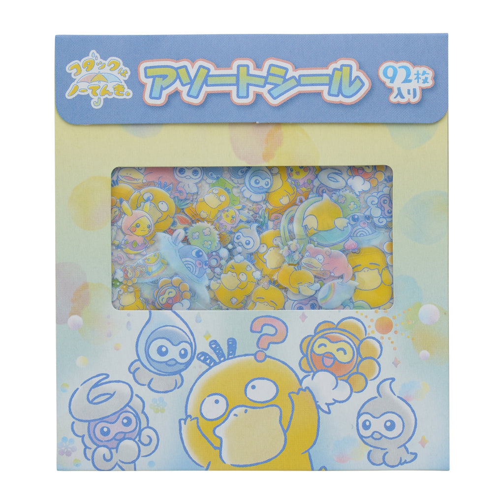 Psyduck Koduck Sticker No-Tenki Pokemon Center Japan