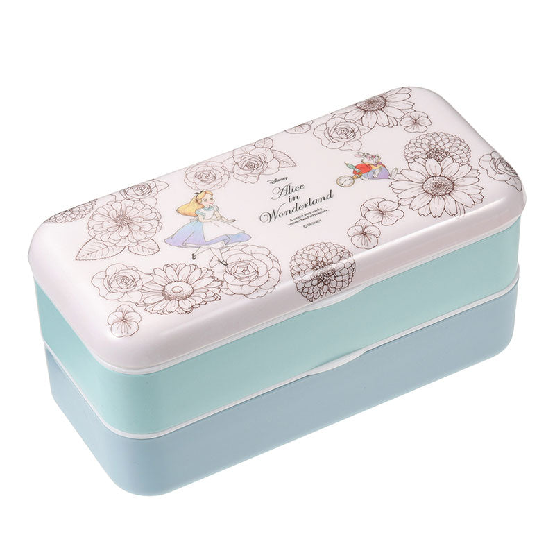 Alice in Wonderland White Rabbit Lunch Box Bento Plants Disney Store Japan