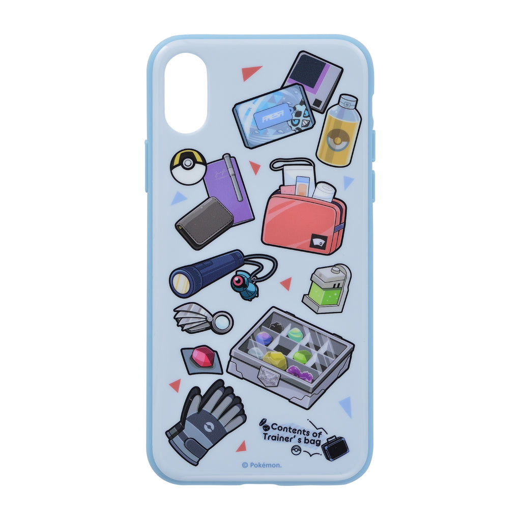 iPhone X / XS Case Cover Soft Contents of Trainer's bag GR Pokemon Center Japan