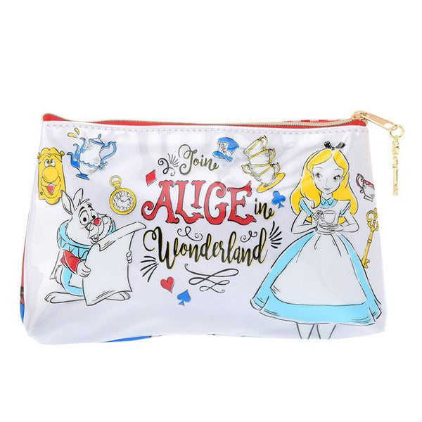 Alice in Wonderland Pen Case Pencil Pouch ALICE PARTY Disney Store Japan