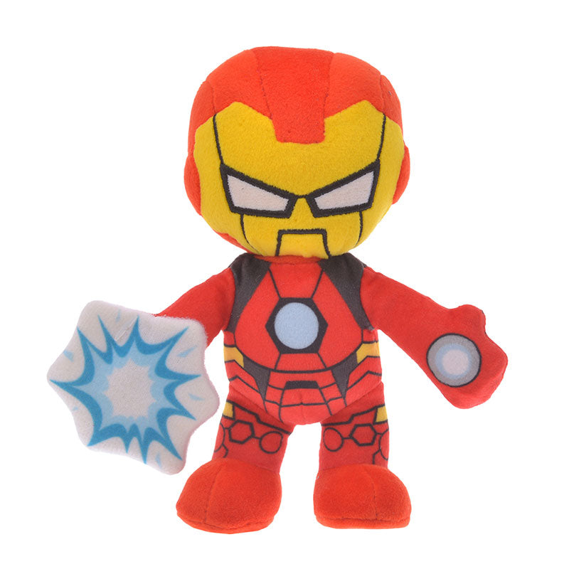 Marvel Iron Man Plush Doll Deformed Disney Store Japan