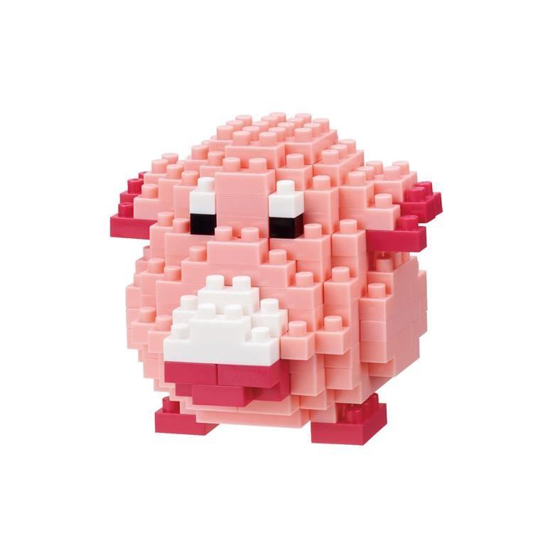 Chansey Lucky Block Building Toy nanoblock Pokemon Japan