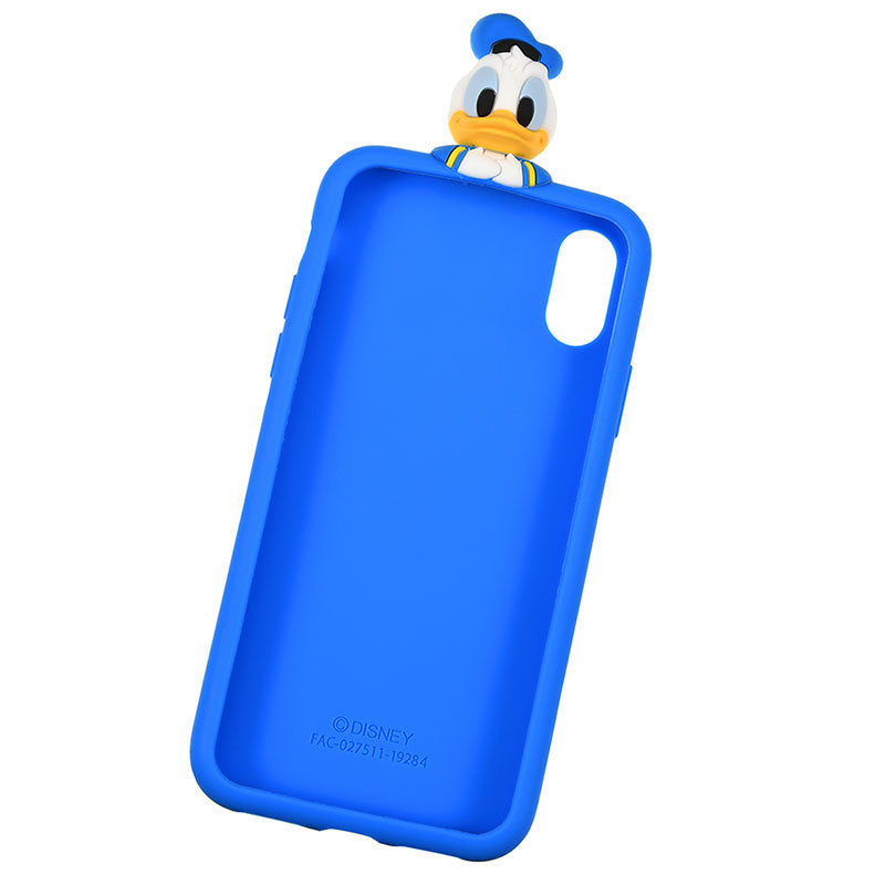 Donald Silicone iPhone X / XS Case Cover Peep Disney Store Japan