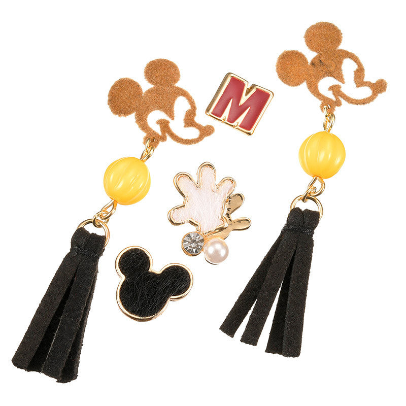 Mickey Piercing Earring Set Mix Autumn & Winter Disney Store Japan