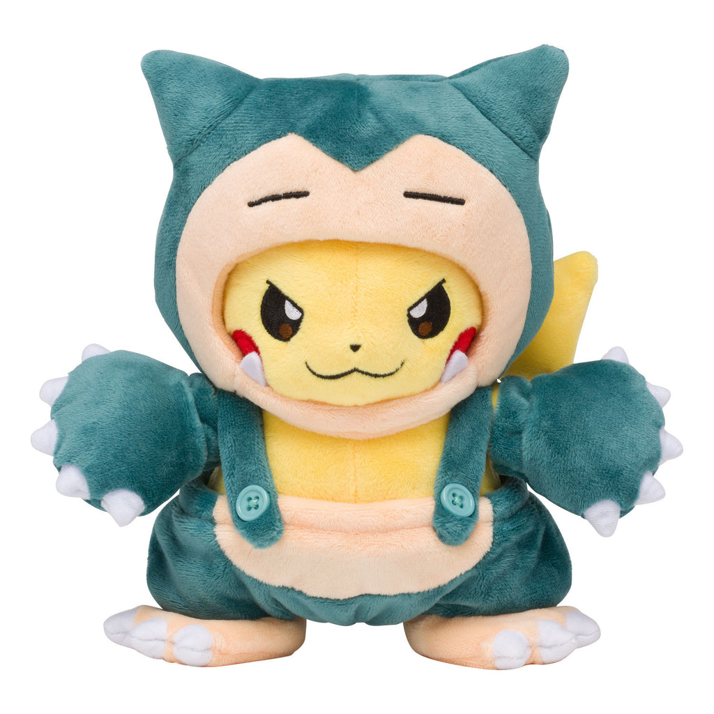 Pikachu Plush Doll Snorlax Mania Pokemon Center Japan Original
