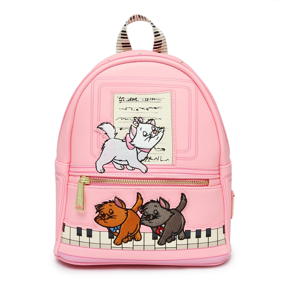 The Aristocats mini Backpack Piano Pink Loungefly Disney Store Japan