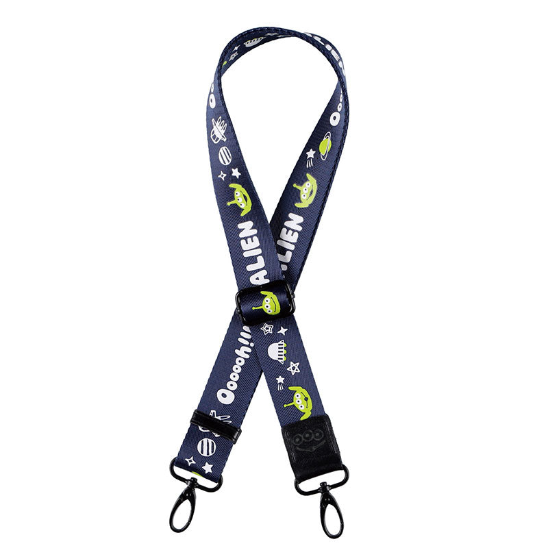 Toy Story Alien IP Strap for Tote Bag Black ROOTOTE Disney Store Japan