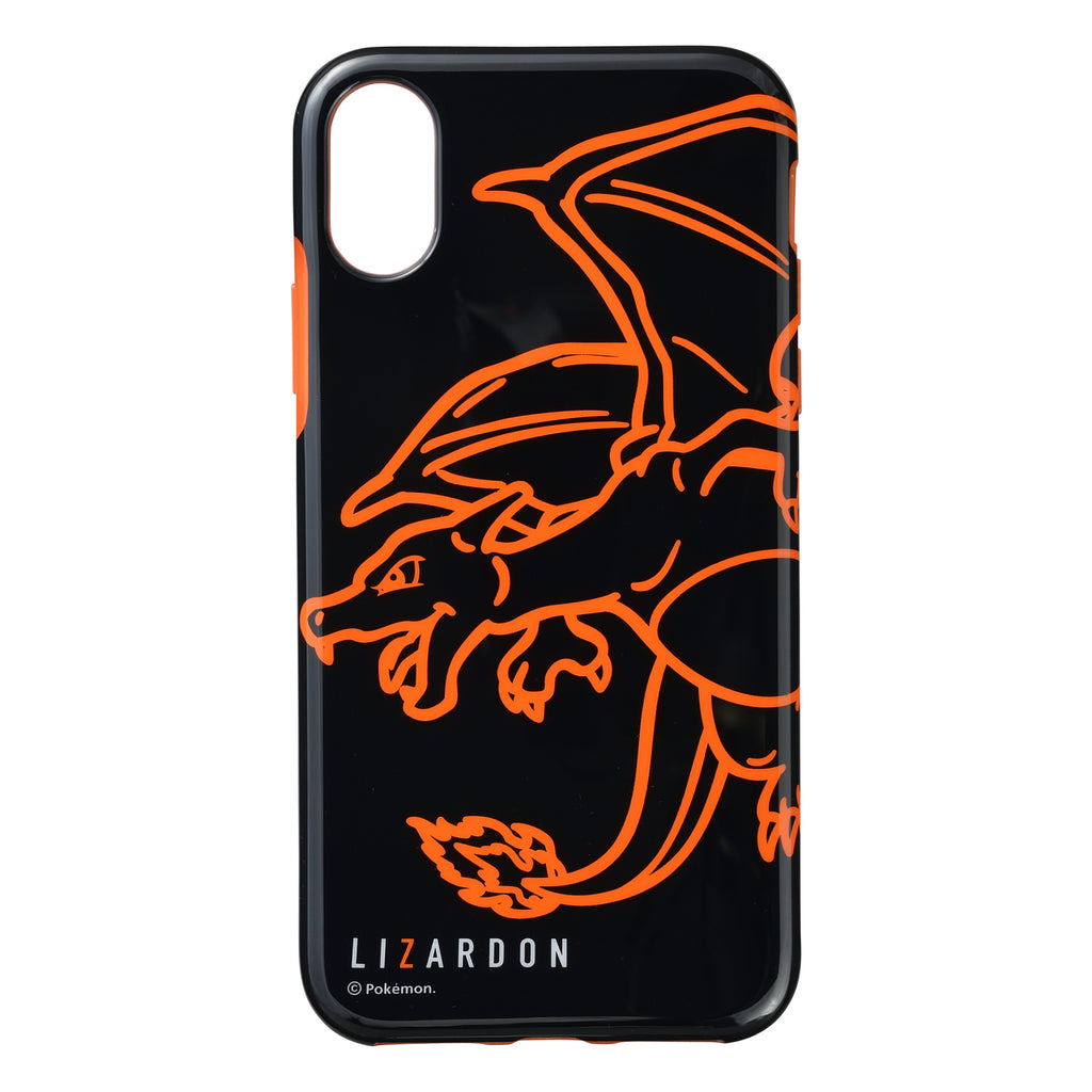 Charizard Lizardon iPhone X / XS Case Cover Soft NeonColor Pokemon Center Japan