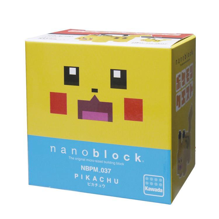 Pikachu Block Building Toy nanoblock Pokemon Square Japan