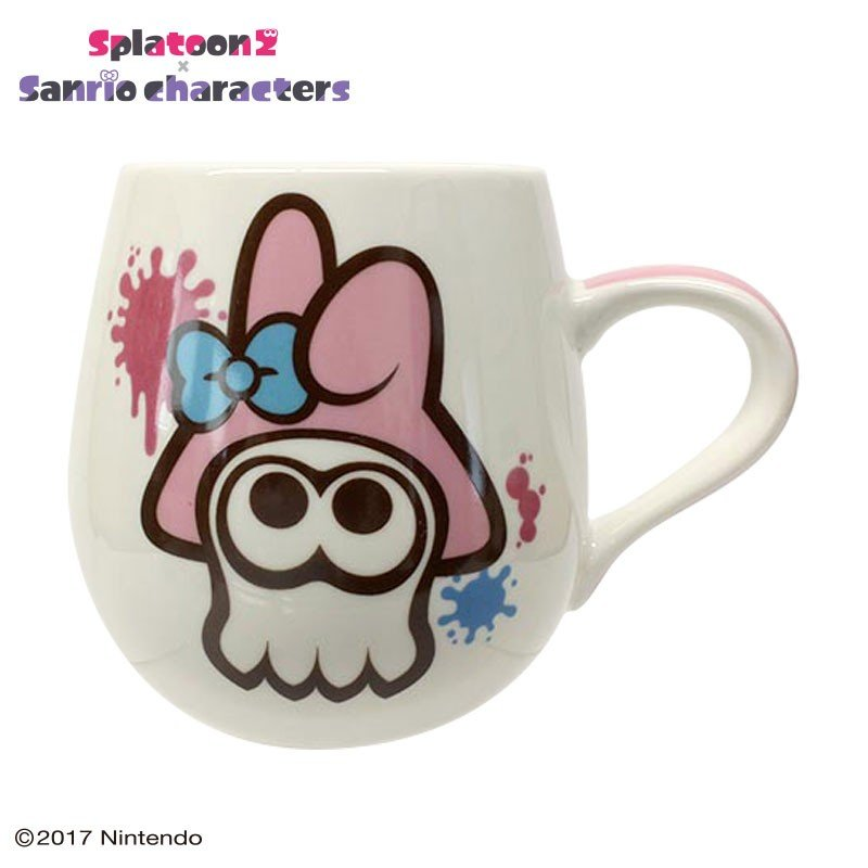 My Melody Mug Cup Squid Splatoon 2 Sanrio Japan