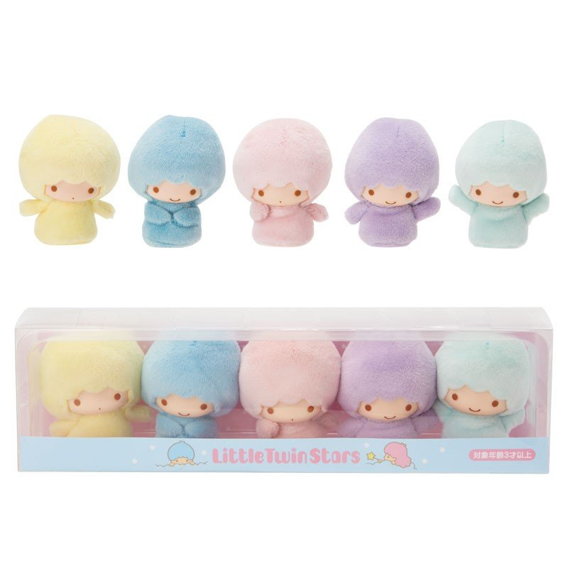 Little Twin Stars Kik Lala Plush Doll Fairy Set Sanrio Japan