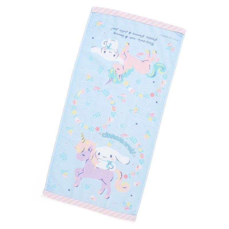 Cinnamoroll Face Towel Unicorn Sanrio Japan