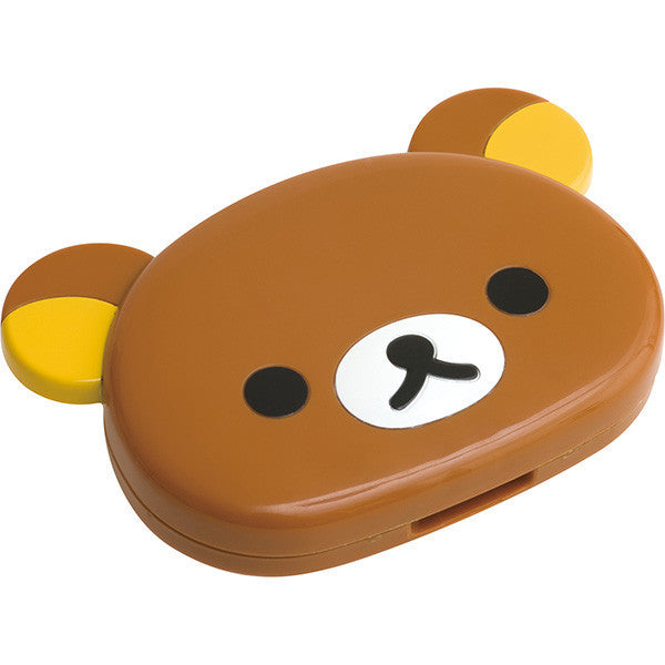 Rilakkuma Compact Mirror with Comb San-X Japan
