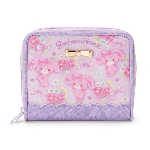 Bonbonribbon Kids Coin Case Pouch Rose Sanrio Japan