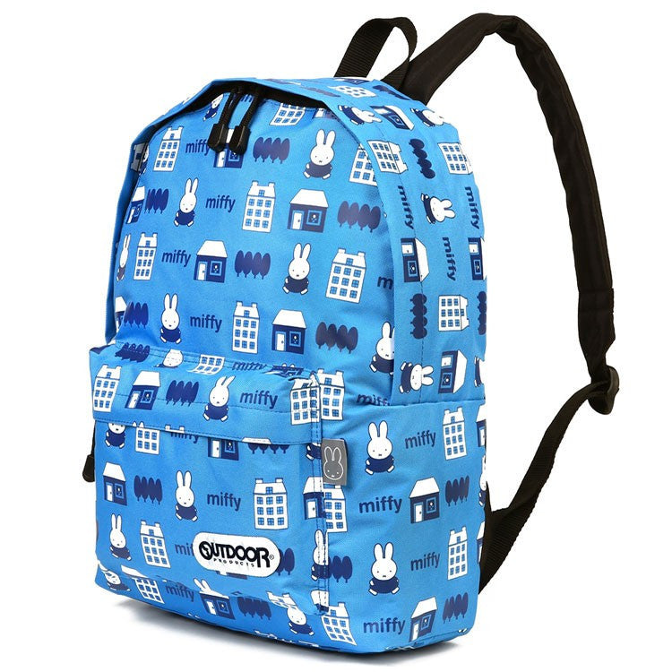 Backpack Day Pack M Sax Blue Miffy OUTDOOR Japan