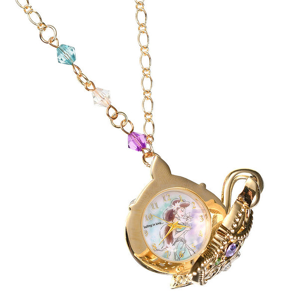 Jasmine Pendant Watch Aladdin Disney Store Japan