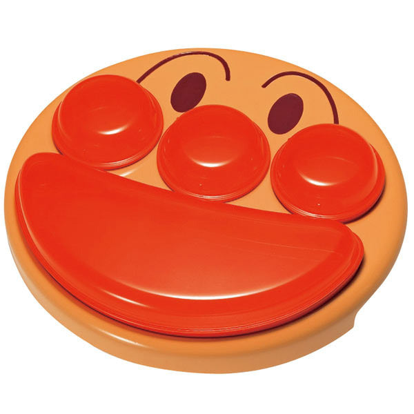 Anpanman Feeding Training Plate Face Lunch Japan Baby